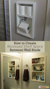 118 best recessed shelving ideas images on pinterest wall stud