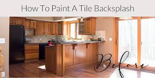 do you need a special paint for kitchen cabinets how to paint a tile backsplash kitchen renovation grace