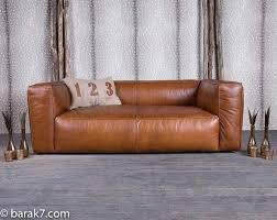 canapé marron convertible canape marron cuir canapac cuir marron clair 3 places cuir de
