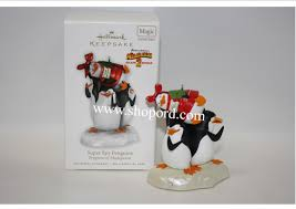 hallmark 2010 penguins penguins of madagascar ornament