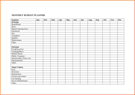 Financial Tracking Spreadsheet 10 Monthly Budget Planner Spreadsheet Excel Spreadsheets Group