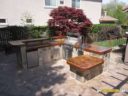 Outdoor Patio Grill Island Outdoor Kitchen Patiogpt Construction