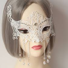 white masquerade masks for women eye mask white lace venetian masquerade party