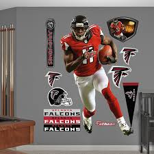 amazon com nfl atlanta falcons julio jones home wall graphics