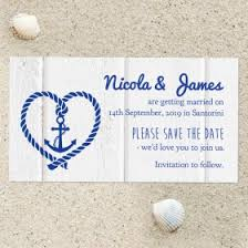 Nautical Save The Date Save The Date Fridge Magnets For Weddings