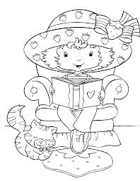 charlotte aux fraises strawberry shortcake coloring pages