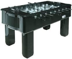 Halex Hockey Table Halex Piano Black Foosball Table Foosball Soccer