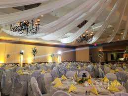 Wedding Ceiling Draping by Michigan Pipe Drape Rental Ceiling Wall Door Draping