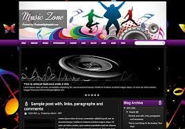 music zone blogger template 2014 free download blogger templates