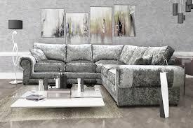 Sofa Set C Shape Tango Velvet Hi 5 Home Furniture