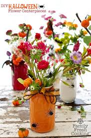 Mason Jar Floral Centerpieces How To Painted Mason Jar Halloween Flowers Marla Meridith