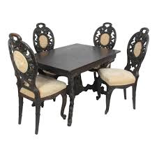 Outdoor Table And Chair Black Forest Table And Chairs Ski Country Antiques U0026 Home
