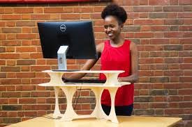 Turn Desk Into Standing Desk by The Portable Standing Desk U0026 Laptop Stand Standstand