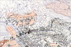 Earthquake Map Los Angeles by Viewing Historical Maps In Google Earth The Urban Nomad
