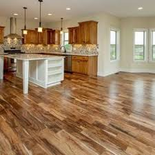 Wood Floor Kitchen by Vinyl Plank Wood Look Floor Versus Engineered Hardwood Woods