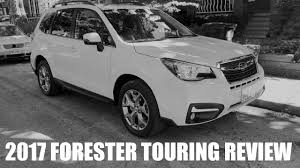 2017 subaru forester premium white 2017 subaru forester touring quick review youtube