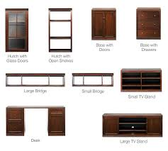 Small Component Cabinet Logan Small Tv Stand Mahogany Stain Pottery Barn