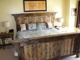 rustic king size bed frame modern king beds design
