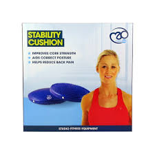 fitness mad stability cushion sports supports mobility