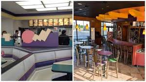 90s fast food restaurants vs what they look like now