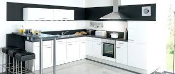 cuisine blanche et noir modele cuisine blanc laquac modele cuisine blanche top