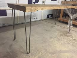 Office Desk Legs by Hairpin Leg Desk Build Roder U0027s Garage