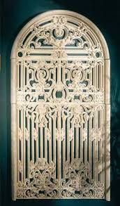 minimalis heavy iron garden gate wall decor for garden gate