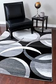 Modern Rugs Affordable 2062 Gray Abstract Contemporary Area Rugs Cheap Rugs