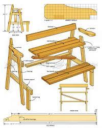 sunset bench plans u2022 woodarchivist