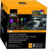 cole bright 18229 stainless steel colour changing marker light