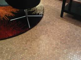 modern home interior design penny tiles decapod stylish cork