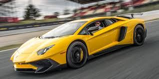yellow lamborghini aventador first drive 2016 lamborghini aventador lp 750 4 sv
