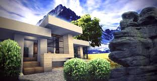 Cool House Designs Minecraft Modern Home Blueprints Google Search Minecraft