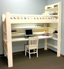 Bunk Bed Desk Underneath Desk Bed Convertible Bunk Bed And Desk Combination Best Bed With