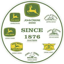john deere round sign history of logos logos history and rounding