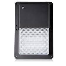 dusk to dawn light sensor rectangular outdoor led wall pack light with dusk to dawn sensor