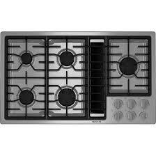 Cooktop Range With Downdraft Kitchen Great Gas Downdraft Cooktop 36 Jenn Air Regarding Designs