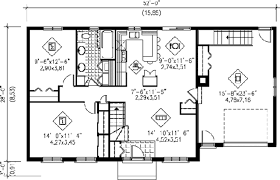 floor plans 1000 square ranch style house plan 2 beds 1 00 baths 1000 sq ft plan 25 4105