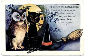 Halloween Cat Poem Vintage Halloween Wallpapers Group 54