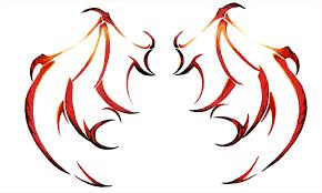 devil wings by ladyxiao on deviantart