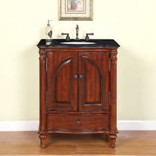 Bathroom Vanity Vanities EBay - Elements 36 inch granite top single sink bathroom vanity