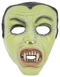 dracula glow in the dark monster mask sourpuss clothing