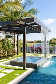 pergola with trellis trellis pergolas contemporary pool miami by coastal