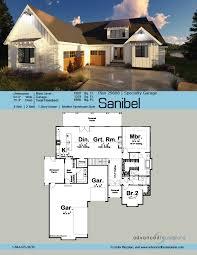 Contemporary Farmhouse Floor Plans 1 Story Modern Farmhouse House Plan Sanibel