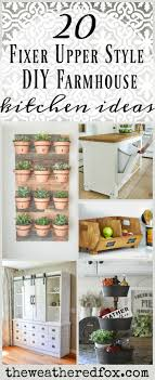 farm house kitchen ideas 20 fabulous fixer style kitchen ideas the weathered fox