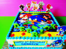 sonic cake topper top ten sonic the hedgehog cakes birthday express