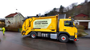 what is the latest volvo commercial about volvo pioneers autonomous self driving refuse truck in the urban