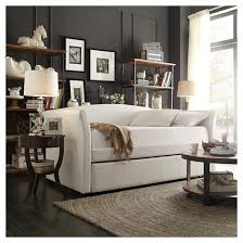 Twin Bed With Pull Out Bed Paige Daybed With Pullout Trundle Twin Vanilla Inspire Q