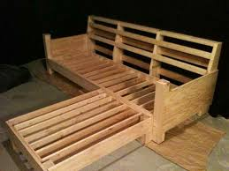 Outdoor Sofa With Chaise Diy Sofa Plans Build Your Own Couch Build Your Own Couch With