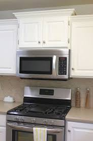 Overhead Kitchen Cabinets by Best 25 Microwave Cabinet Ideas Only On Pinterest Microwave